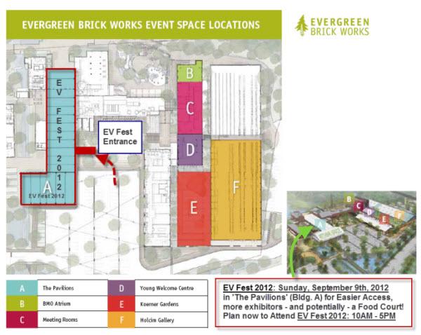 Evergreen Brick Works - The Pavilions - EV Fest 2012
