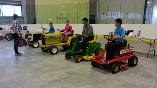 Junior Electric Vehicle Drivers in Training!