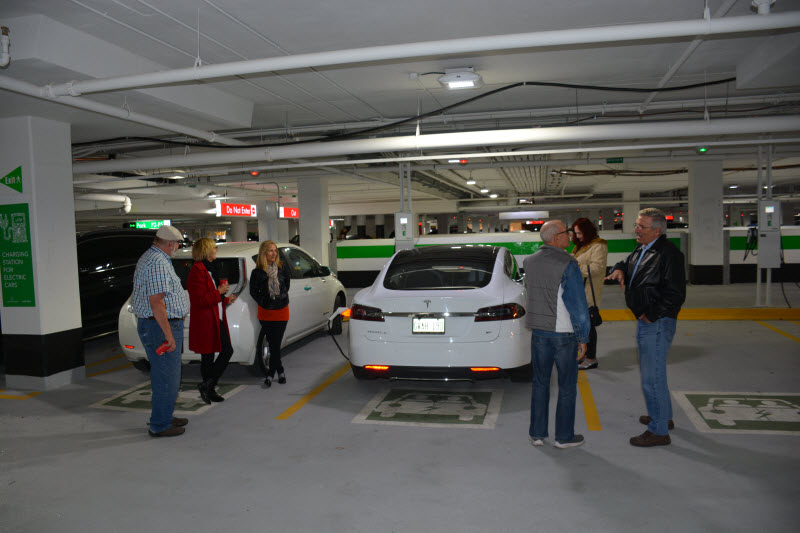 Some of our First EV Charging Show Guests!